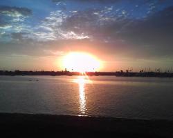 Baptism Sunset, Bahia Point, San Diego July 26, 2014