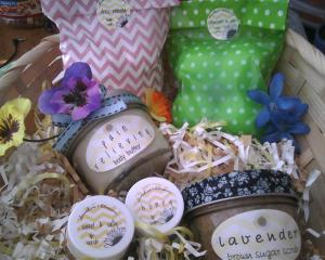 Baskets made by Sierra Richardson for my girls