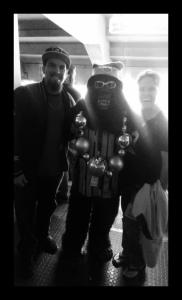 Gorilla Rilla Official Mascot of The Black Hole of the Raiders